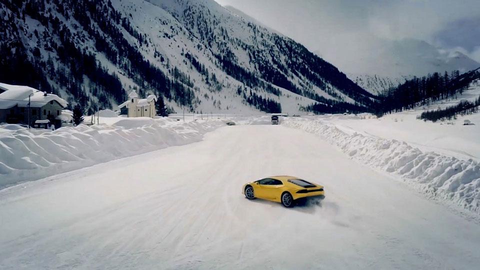 Lamborghini-Testfahrer
